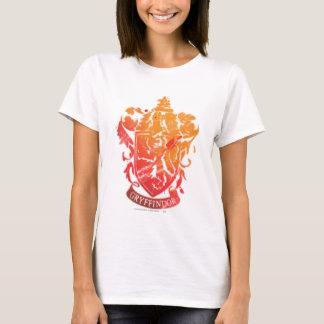 Harry Potter   Gryffindor Crest - Splattered T-Shirt