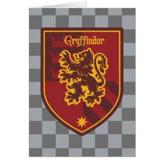 Harry Potter | Gryffindor House Pride Crest Card