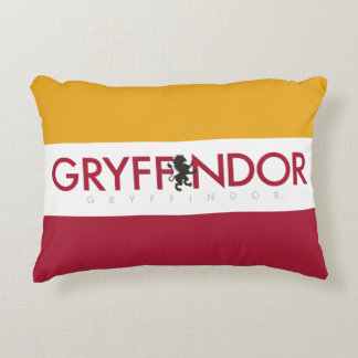 Harry Potter | Gryffindor House Pride Crest Decorative Pillow