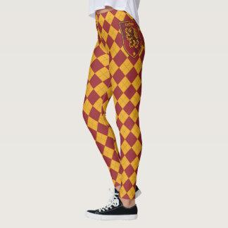 Harry Potter   Gryffindor House Pride Crest Leggings