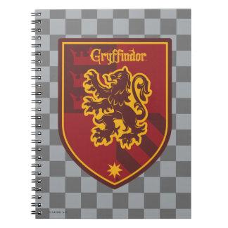 Harry Potter | Gryffindor House Pride Crest Notebooks