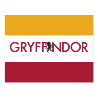 Harry Potter | Gryffindor House Pride Crest Postcard