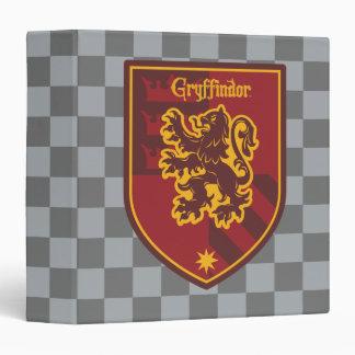 Harry Potter | Gryffindor House Pride Crest Vinyl Binders