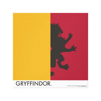 Harry Potter | Gryffindor House Pride Graphic Canvas Print