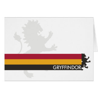 Harry Potter | Gryffindor House Pride Graphic Card