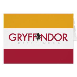Harry Potter | Gryffindor House Pride Logo Card