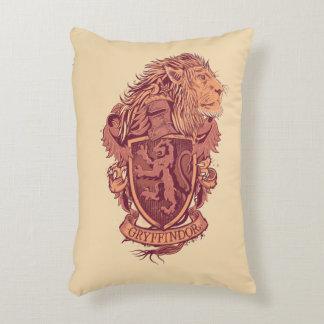 Harry Potter | Gryffindor Lion Crest Decorative Pillow