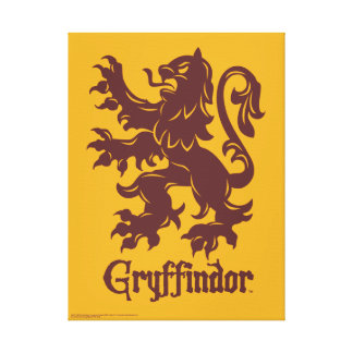 Harry Potter | Gryffindor Lion Graphic Canvas Print