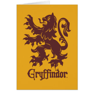 Harry Potter | Gryffindor Lion Graphic Card