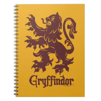 Harry Potter | Gryffindor Lion Graphic Notebook