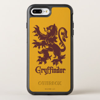 Harry Potter | Gryffindor Lion Graphic OtterBox Symmetry iPhone 8 Plus/7 Plus Case