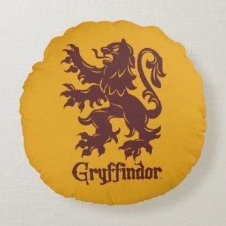 Harry Potter | Gryffindor Lion Graphic Round Pillow