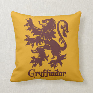 Harry Potter | Gryffindor Lion Graphic Throw Pillow