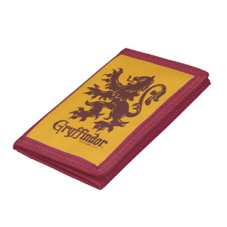 Harry Potter | Gryffindor Lion Graphic Trifold Wallets