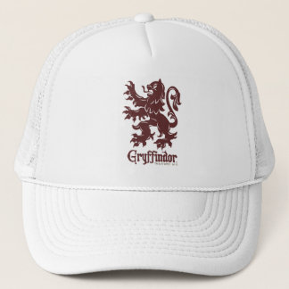 Harry Potter | Gryffindor Lion Graphic Trucker Hat