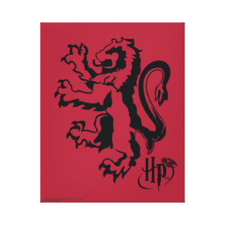 Harry Potter | Gryffindor Lion Icon Canvas Print