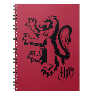 Harry Potter | Gryffindor Lion Icon Spiral Notebook