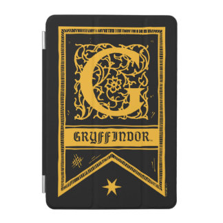 Harry Potter | Gryffindor Monogram Banner iPad Mini Cover