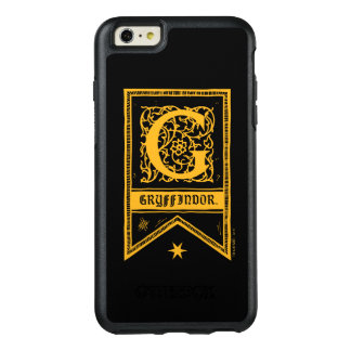 Harry Potter | Gryffindor Monogram Banner OtterBox iPhone 6/6s Plus Case