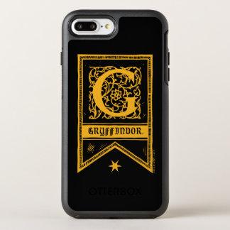 Harry Potter | Gryffindor Monogram Banner OtterBox Symmetry iPhone 8 Plus/7 Plus Case