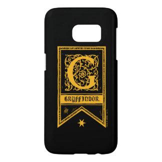 Harry Potter | Gryffindor Monogram Banner Samsung Galaxy S7 Case