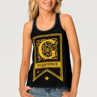 Harry Potter | Gryffindor Monogram Banner Tank Top