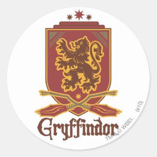 Harry Potter | Gryffindor QUIDDITCH™  Badge Classic Round Sticker
