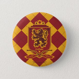 Harry Potter | Gryffindor QUIDDITCH™  Crest 2 Inch Round Button