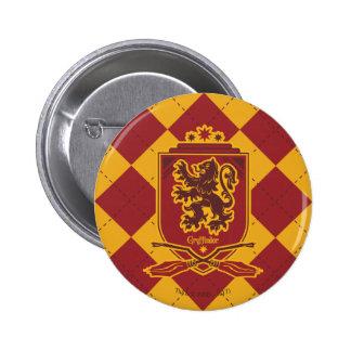 Harry Potter | Gryffindor Quidditch Crest 2 Inch Round Button