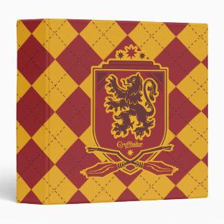 Harry Potter | Gryffindor QUIDDITCH™  Crest 3 Ring Binders