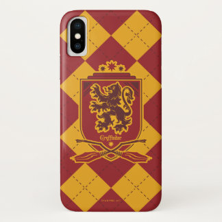Harry Potter | Gryffindor QUIDDITCH™  Crest iPhone X Case