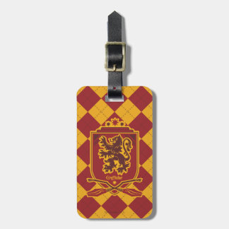 Harry Potter | Gryffindor QUIDDITCH™  Crest Luggage Tag
