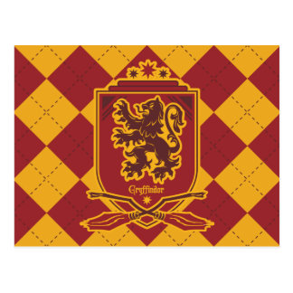 Harry Potter | Gryffindor Quidditch Crest Postcard