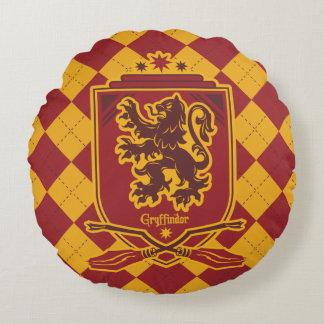 Harry Potter | Gryffindor QUIDDITCH™  Crest Round Pillow