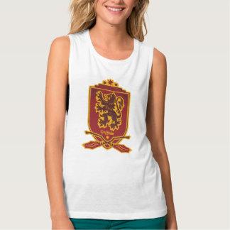 Harry Potter | Gryffindor Quidditch Crest Tank Top