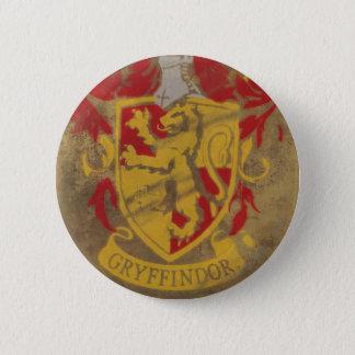 Harry Potter | Gryffindor - Retro House Crest 2 Inch Round Button