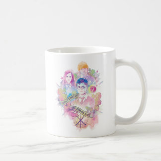Harry Potter | Harry, Hermione, & Ron Watercolor Coffee Mug