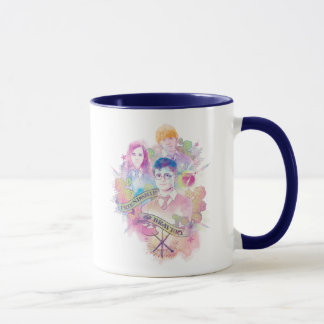 Harry Potter | Harry, Hermione, & Ron Watercolor Mug