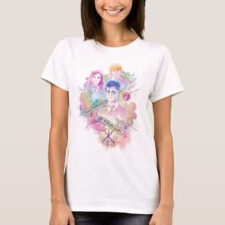 Harry Potter | Harry, Hermione, & Ron Watercolor T-Shirt