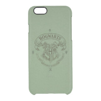 Harry Potter | Hogwarts Banner Crest Clear iPhone 6/6S Case