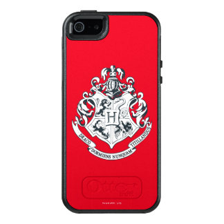Harry Potter | Hogwarts Crest - Black and White OtterBox iPhone 5/5s/SE Case