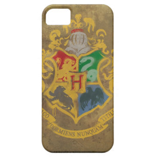Harry Potter   Hogwarts Crest - Blue iPhone 5 Cover