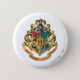 Harry Potter | Hogwarts Crest - Full Color 2 Inch Round Button