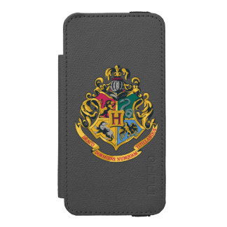 Harry Potter | Hogwarts Crest - Full Color Incipio Watson™ iPhone 5 Wallet Case