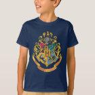 Harry Potter   Hogwarts Crest - Full Colour T-Shirt