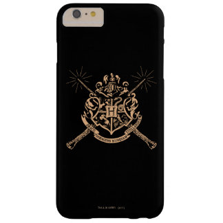 Harry Potter | Hogwarts Crossed Wands Crest Barely There iPhone 6 Plus Case