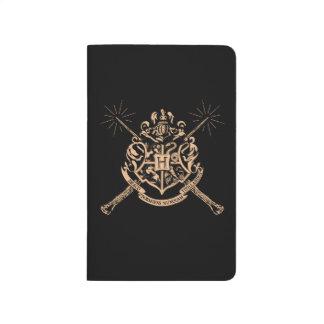 Harry Potter | Hogwarts Crossed Wands Crest Journal