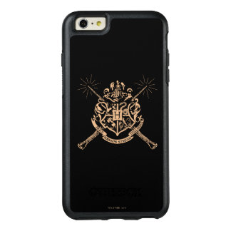 Harry Potter | Hogwarts Crossed Wands Crest OtterBox iPhone 6/6s Plus Case
