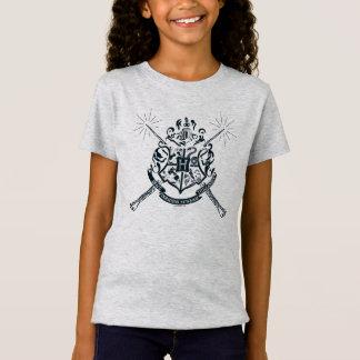 Harry Potter | Hogwarts Crossed Wands Crest T-Shirt