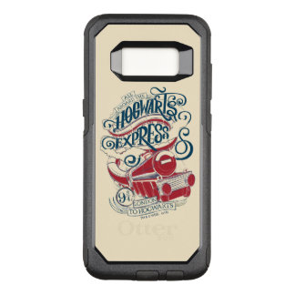 Harry Potter   Hogwarts Express Typography OtterBox Commuter Samsung Galaxy S8 Case